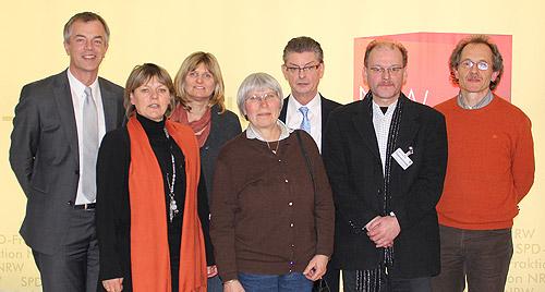 Besuch des Arbeitskreises Roma im Landtag